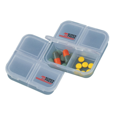 Promotional Pill Box Container